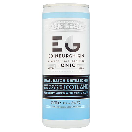Edinburgh Gin and Tonic cans | Page & Sons